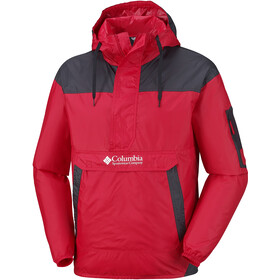 Columbia Challenger Giacca frangivento Uomo, mountain red